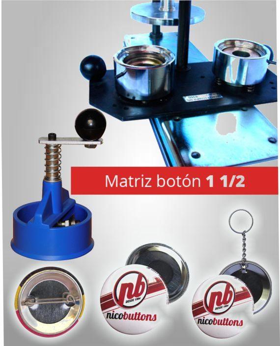 Matriz Boton 1 1-2 38MM