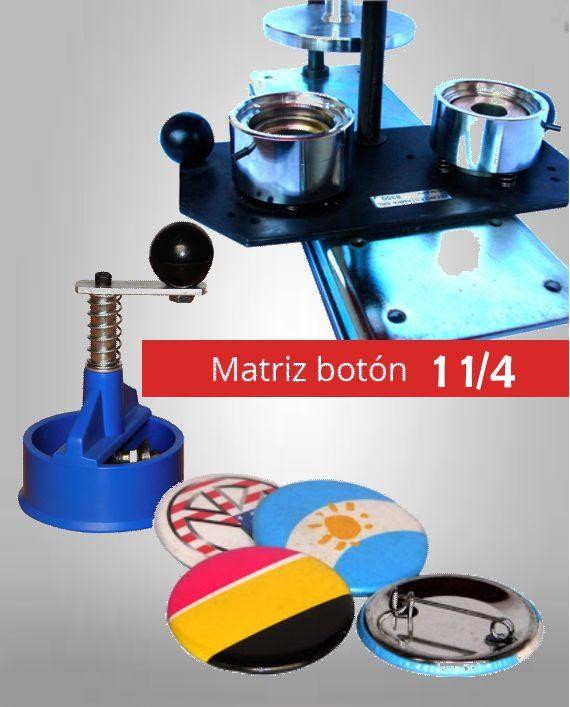 Matriz Boton 1 1-4 32MM Fotoshop