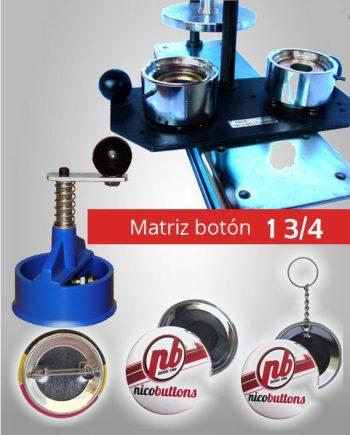 Matrices para Fabricación de Botones
