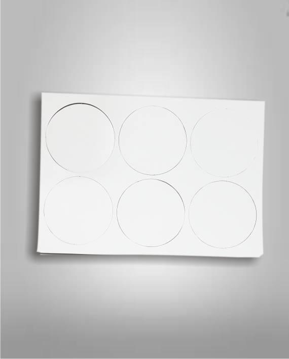 Posavasos de Carton Circular Sublimable Fotoshop