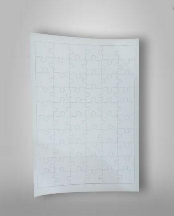 Rompecabezas Sublimable-Cartón