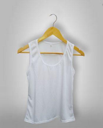 Musculosas Femeninas Blancas Sublimables