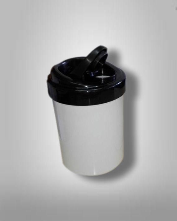 Azucarera Plastica con Tapa Vertedora Sublimable Fotoshop