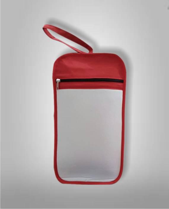 Botinero Rojo con frente Sublimable Fotoshop