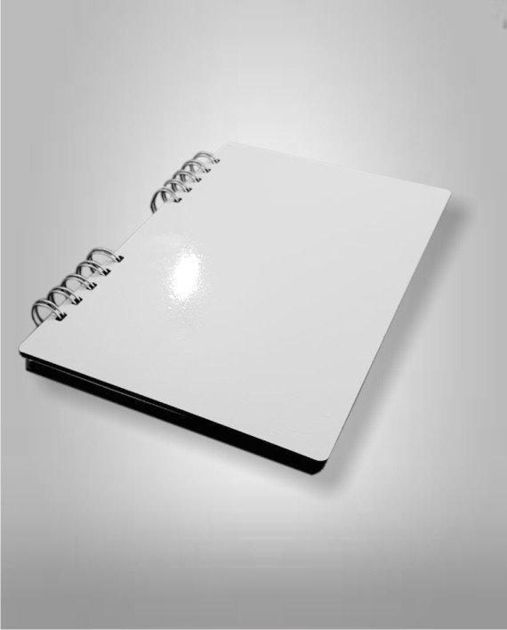 Cuaderno Madera Cristal Sublimble FotoShop