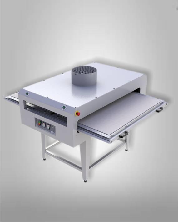 PTS950 BASIC Prensa Termica Semiautomatica Doble Bandeja 700x1100mm Basic