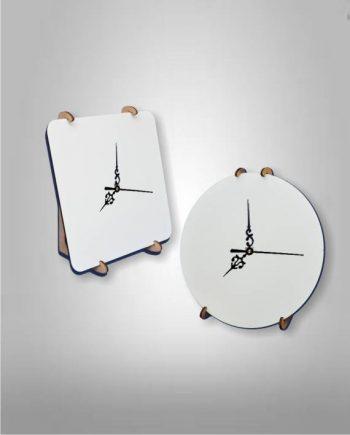 Reloj Madera Cristal Sublimable
